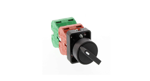 Selector Switch, Black - 3 Position