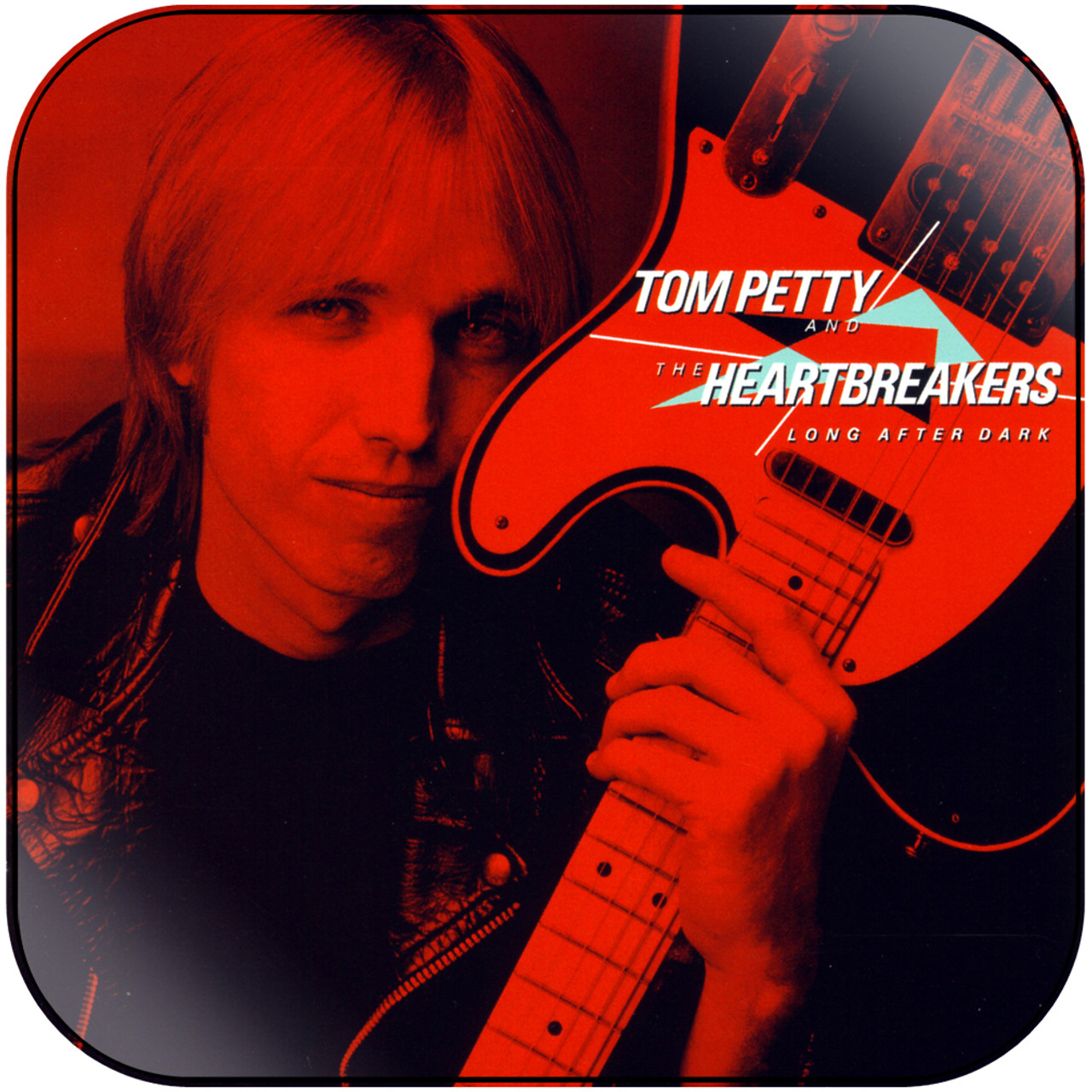Tom Petty And The Heartbreakers Long After Dark Album Cover Sticker Album Cover Sticker