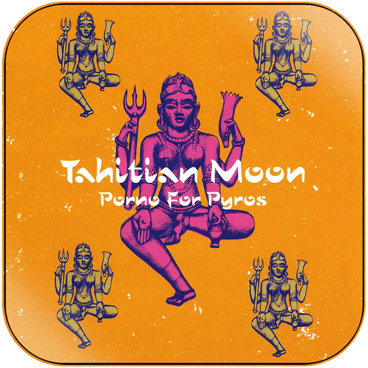 Album Porno porno for pyros - tahitian moon album cover sticker album cover sticker