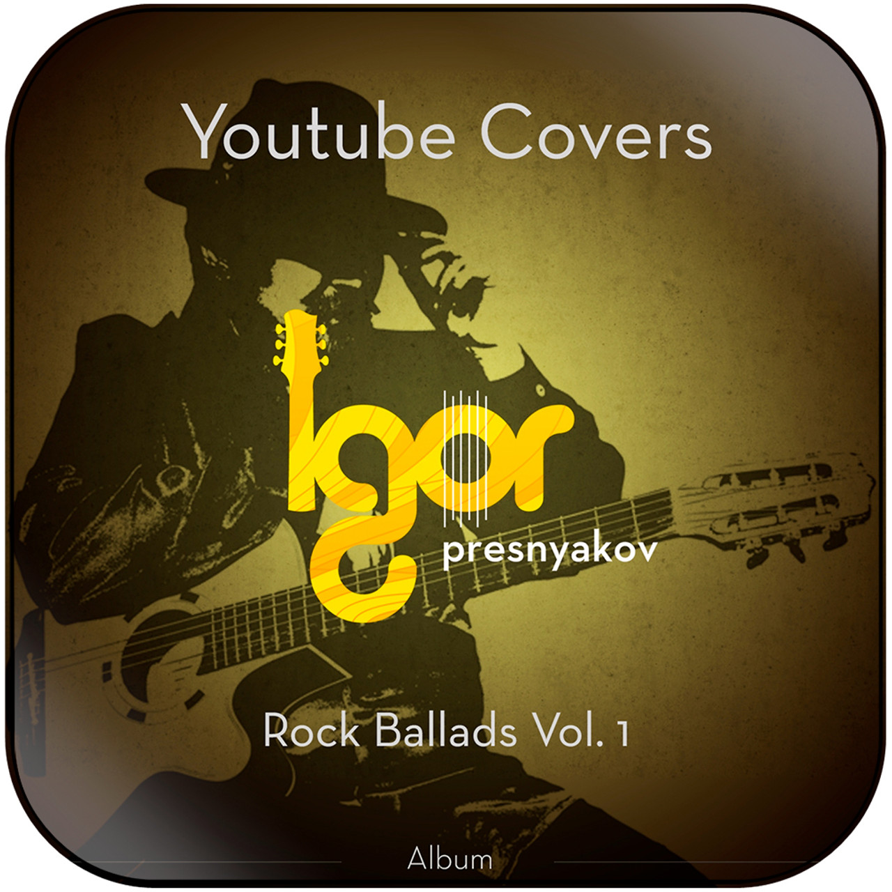 Igor Presnyakov - Youtube Rock Ballads Vol 1 Album Cover Sticker Album  Cover Sticker