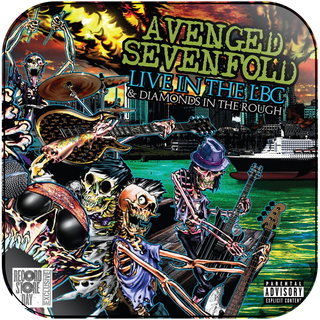 Avenged Sevenfold - Live In The Lbc Diamonds In The Rough-1 Album Cover  Sticker Album Cover Sticker