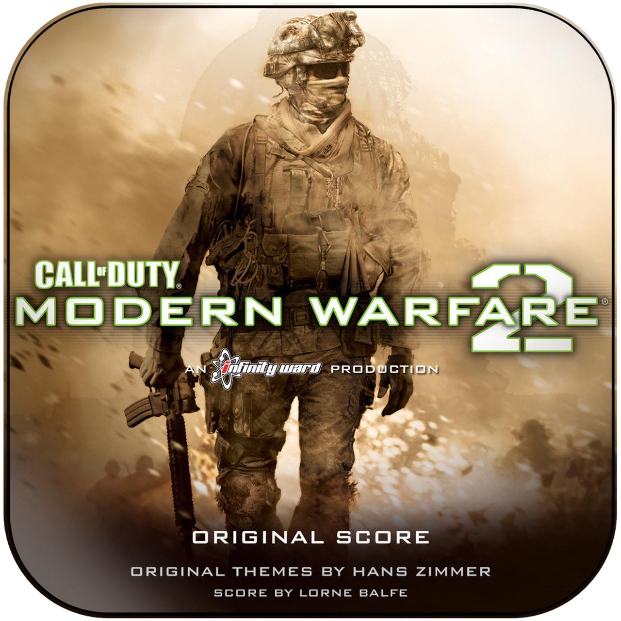 Hans Zimmer Call Of Duty Modern Warfare 2 Album Cover Sticker
