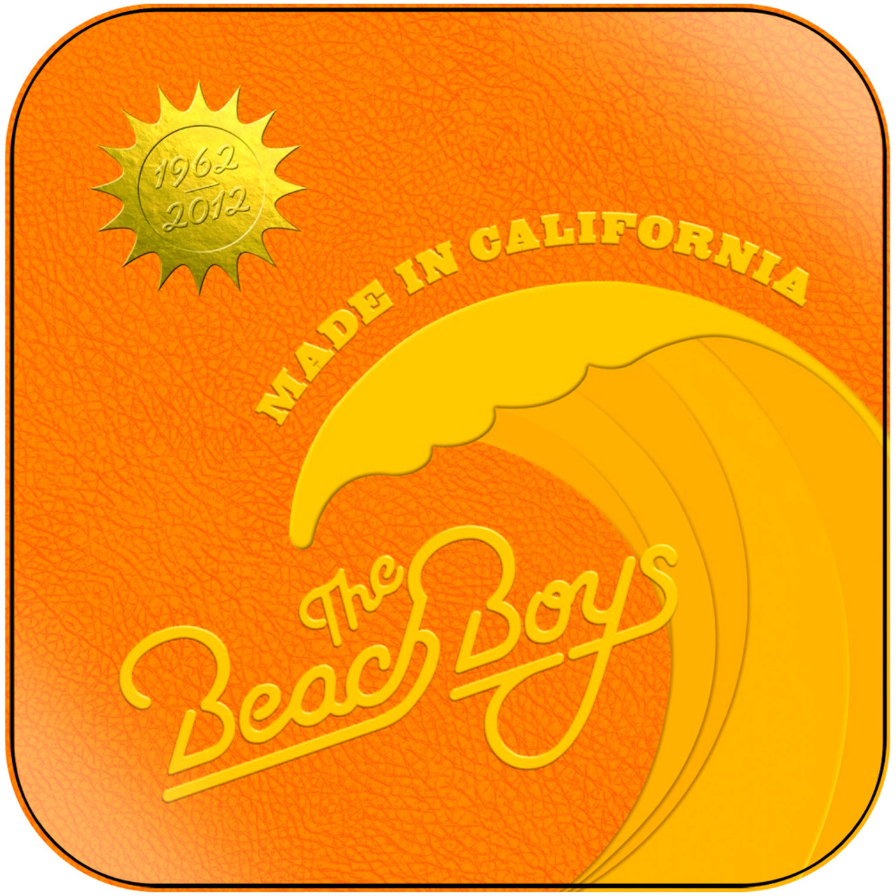 The Beach Boys Made In Usa Album Cover Sticker Album Cover Sticker