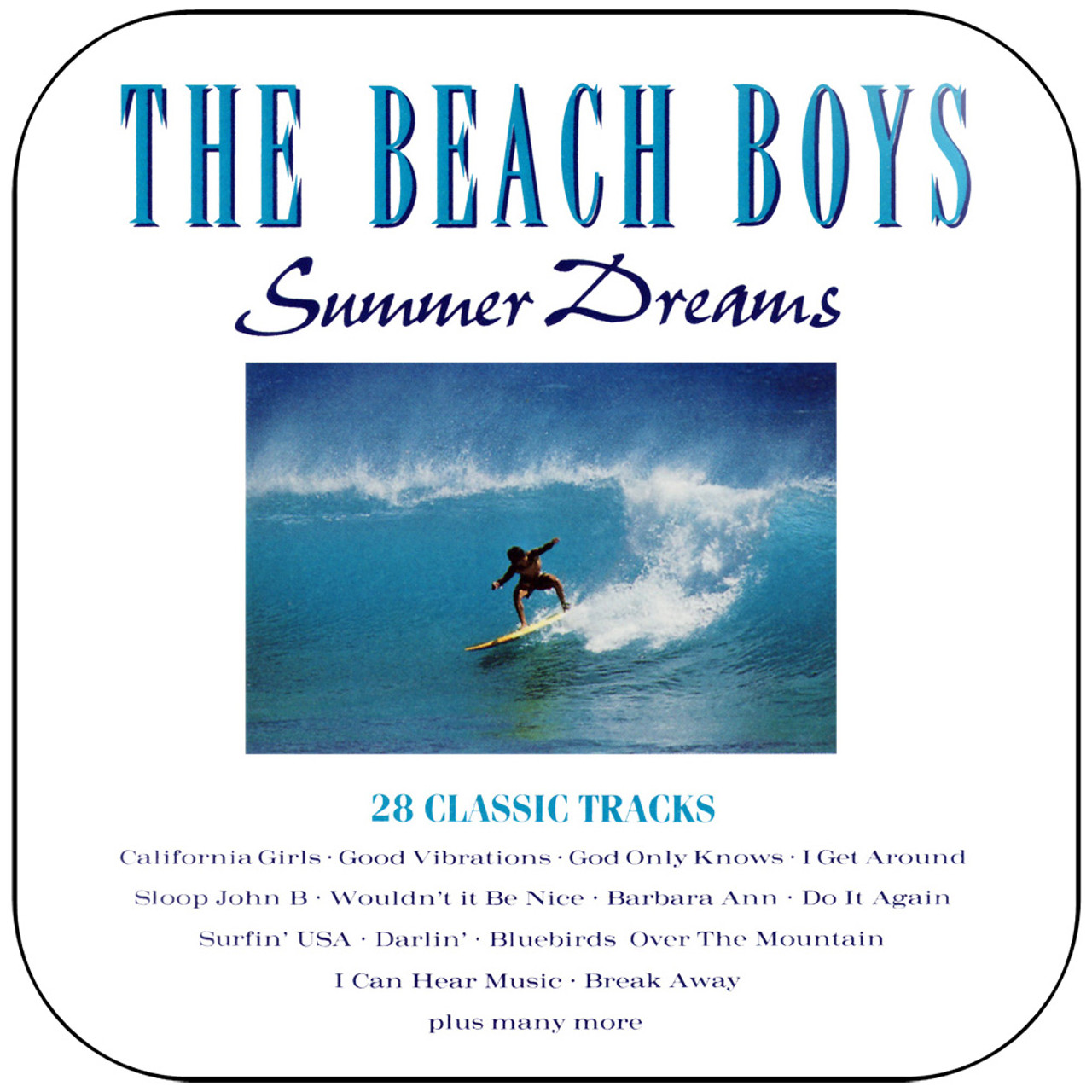 The Beach Boys Summer In Paradise Album Cover Sticker Album Cover Sticker