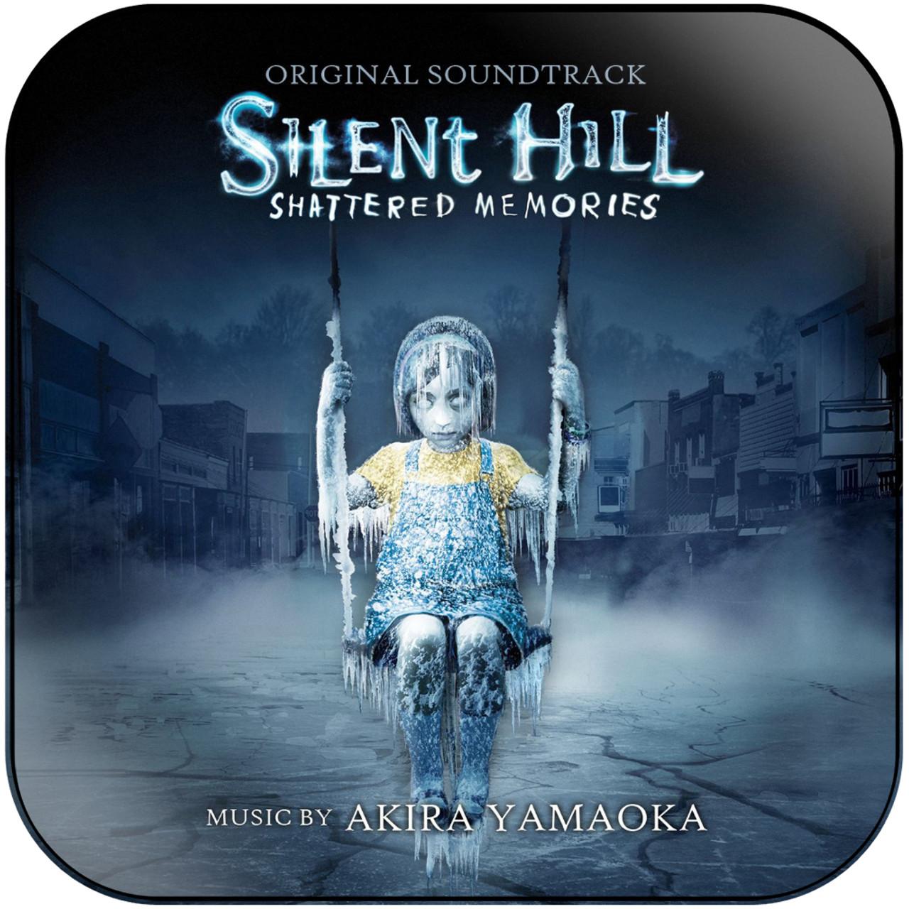 Akira Yamaoka Silent Hill Shattered Memories 2 Album Cover Sticker