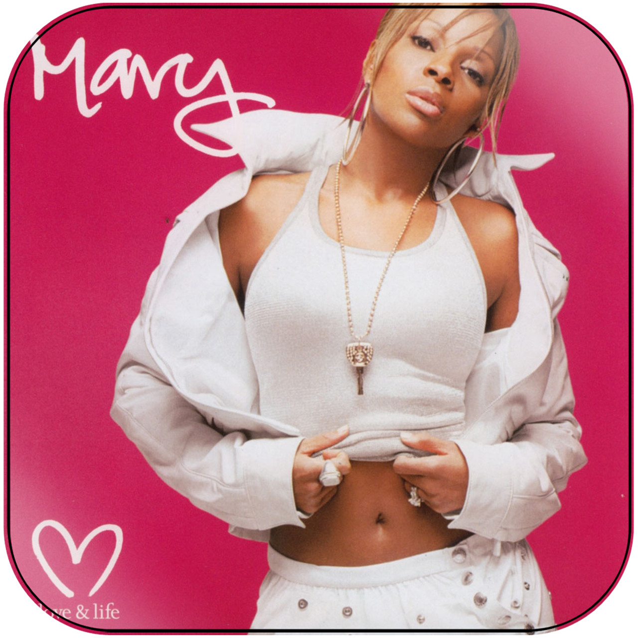 Mary J Blige - Reflections A Retrospective Album Cover Sticker Album Cover  Sticker