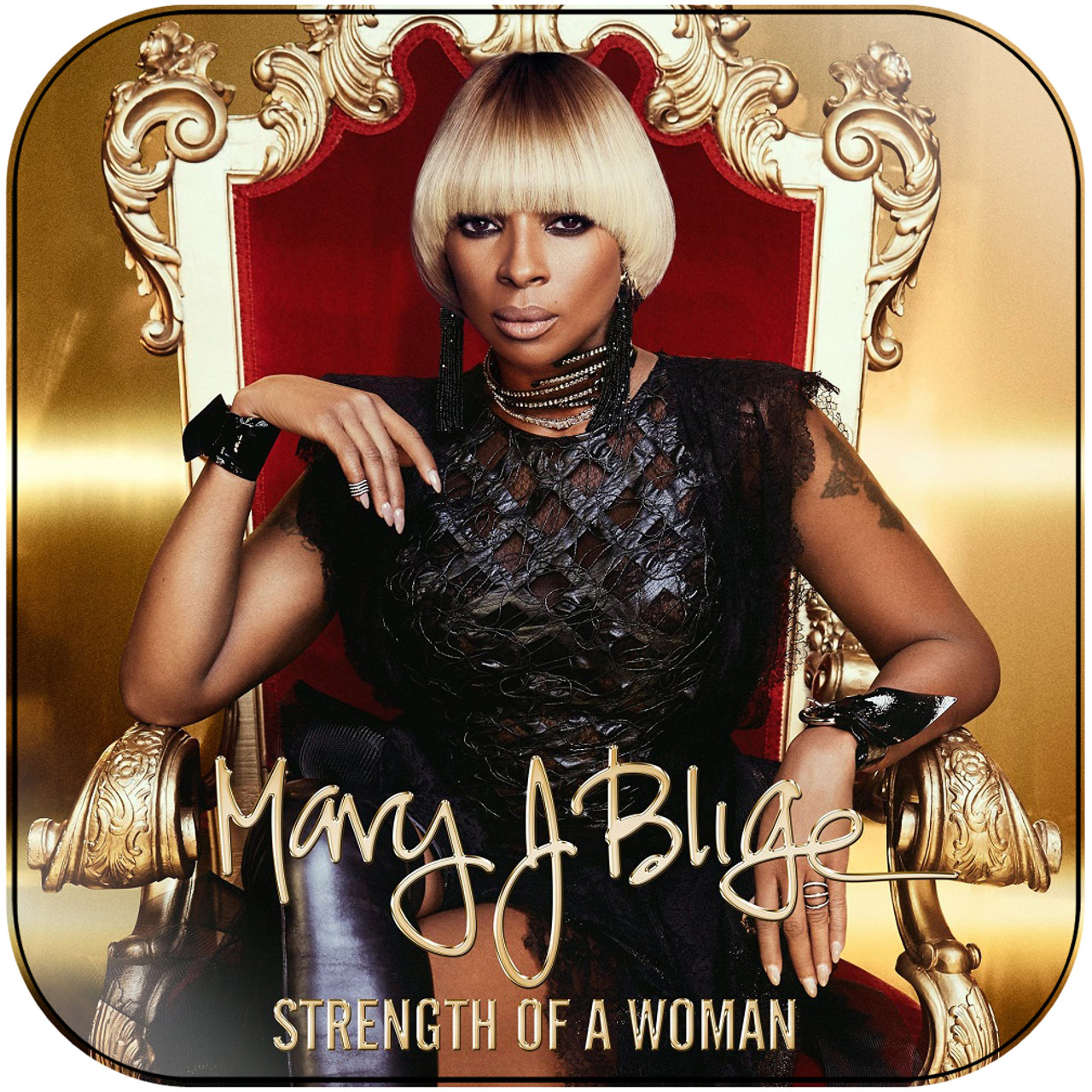 Mary J Blige Stronger With Each Tear Album Cover Sticker Album ...