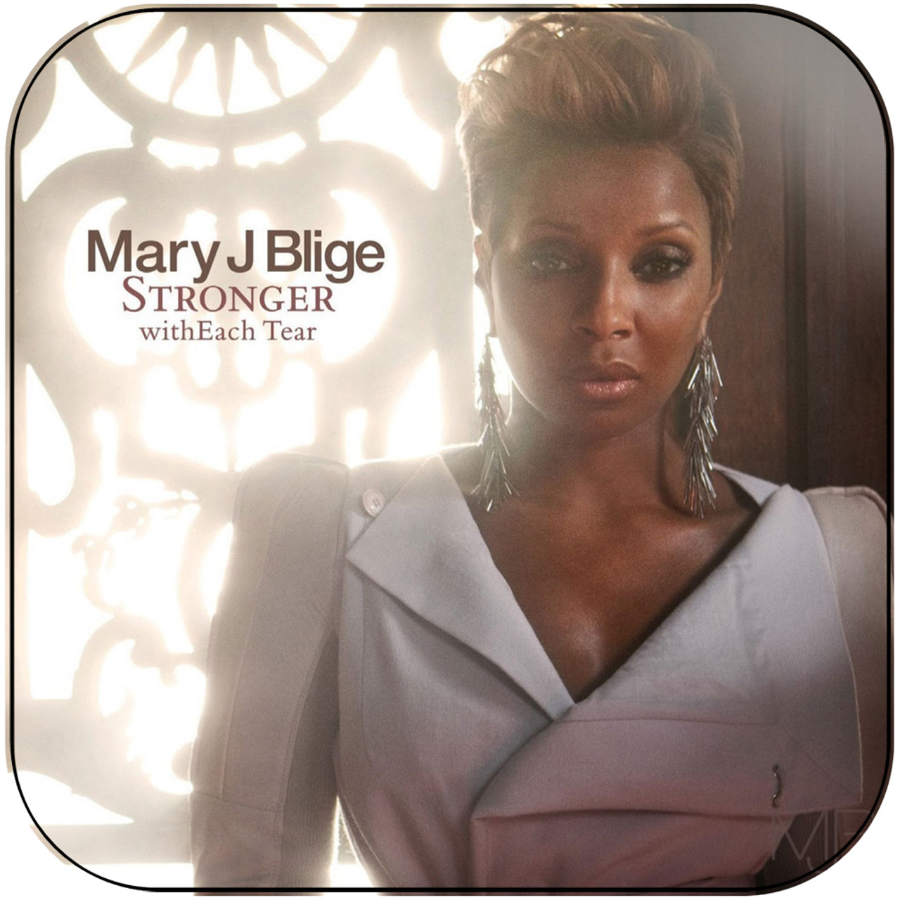 Mary J Blige - The Breakthrough Album Cover Sticker Album Cover Sticker