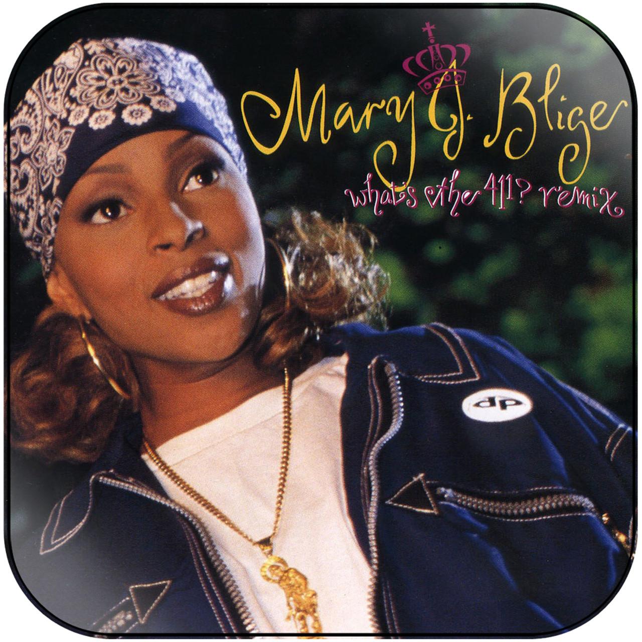 Mary J Blige - Face The Evil Album Cover Sticker Album Cover Sticker