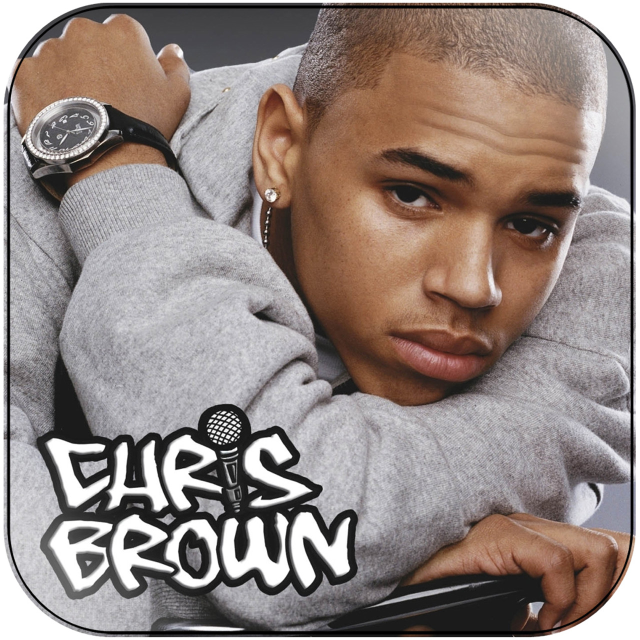 Chris Brown - Fame Album Cover Sticker Album Cover Sticker