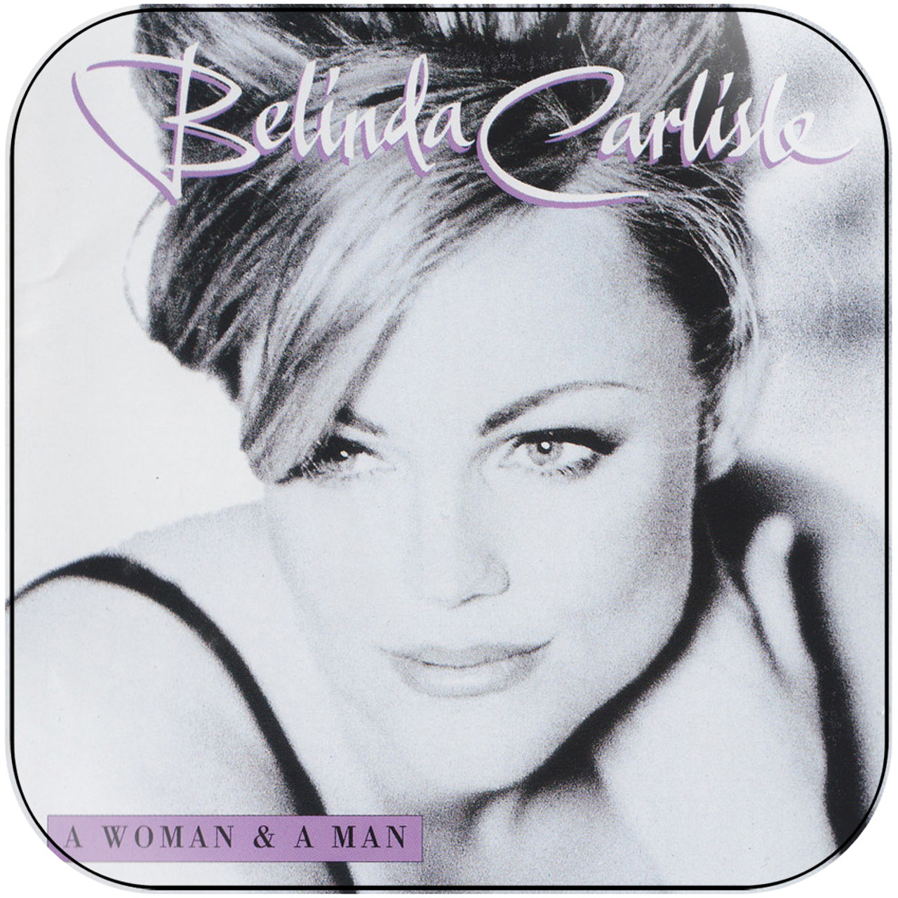 Belinda Carlisle A Woman A Man Album Cover Sticker Album Cover Sticker