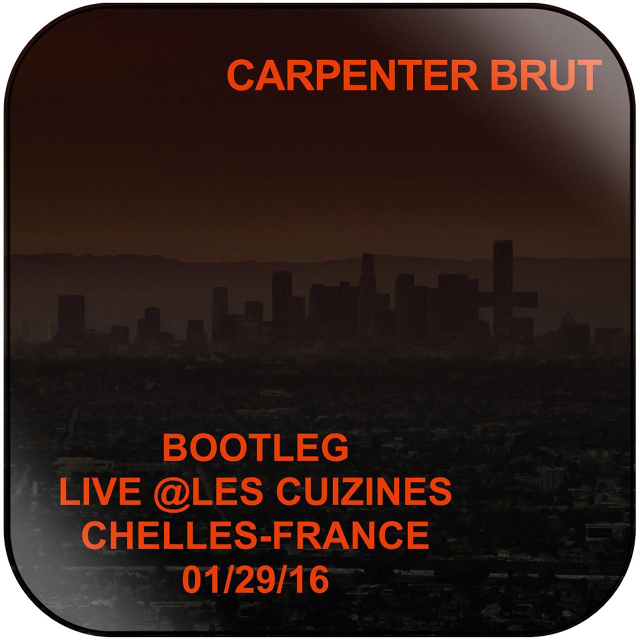Carpenter Brut - Live Les Cuizines Album Cover Sticker Album Cover Sticker