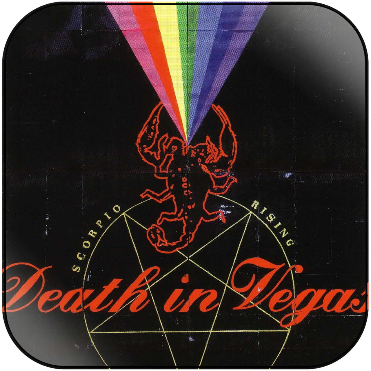Death in Vegas - Scorpio Rising Album Cover Sticker