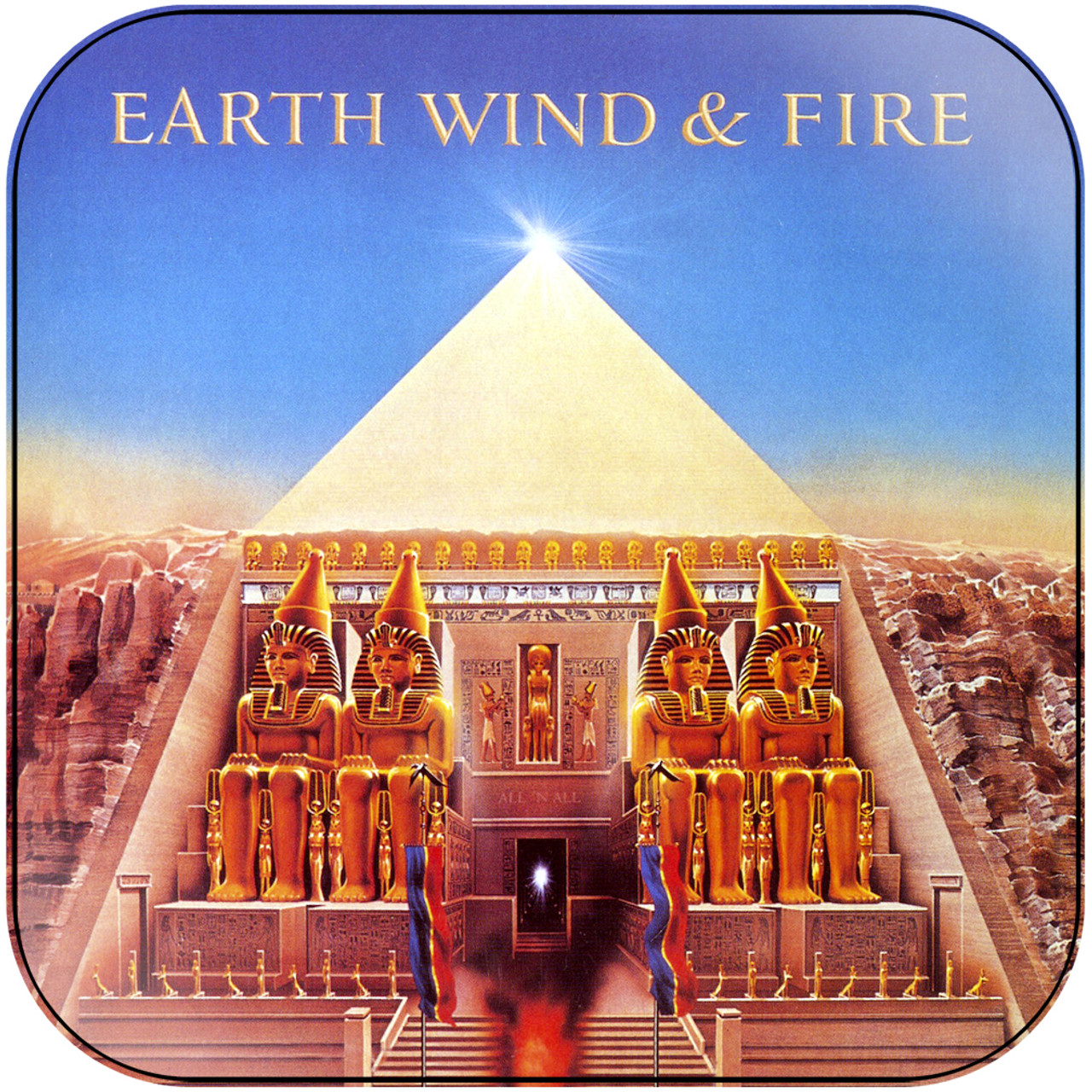 Earth Wind and Fire - All N All Album Cover Sticker