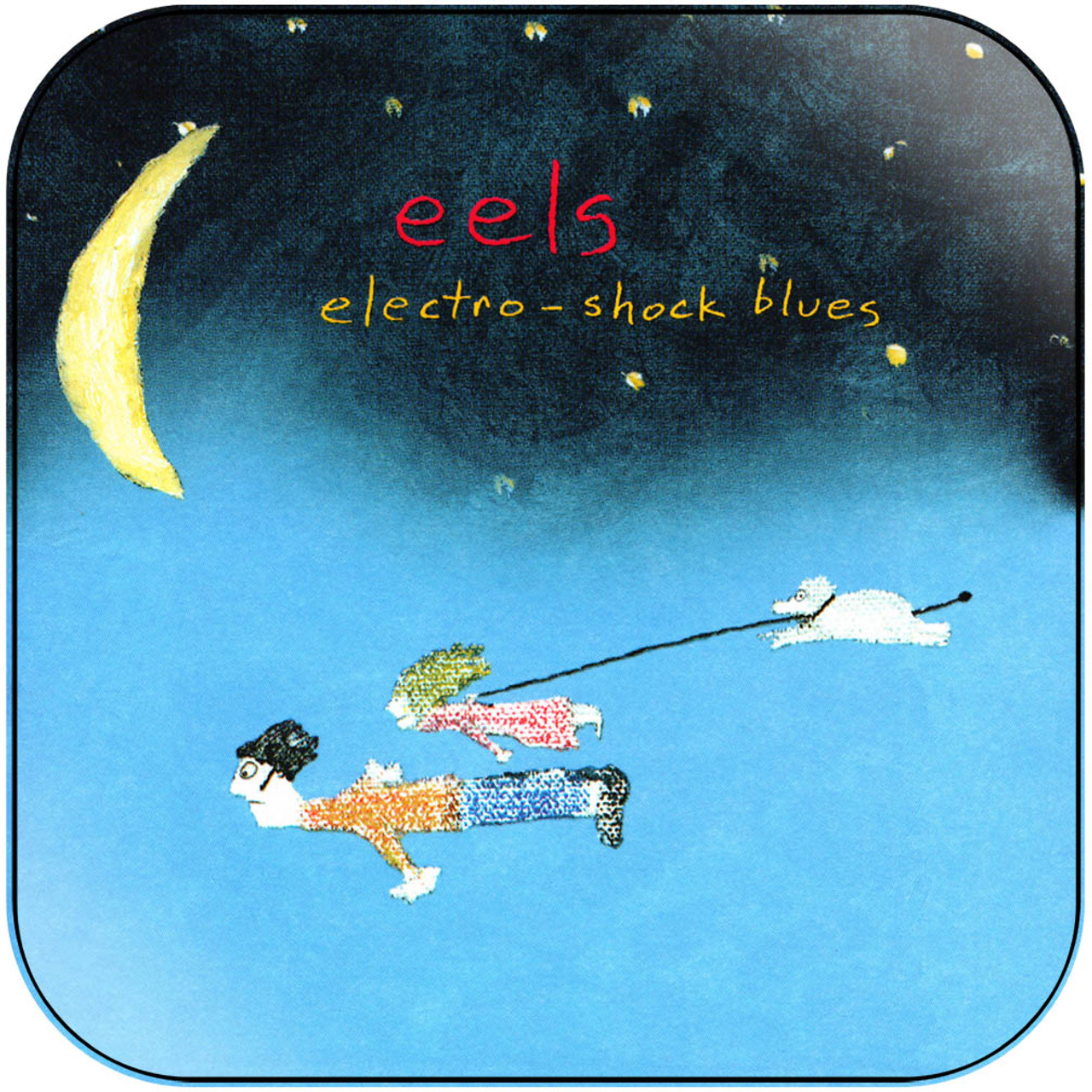 Eels Electro Shock Blues Album Cover Sticker