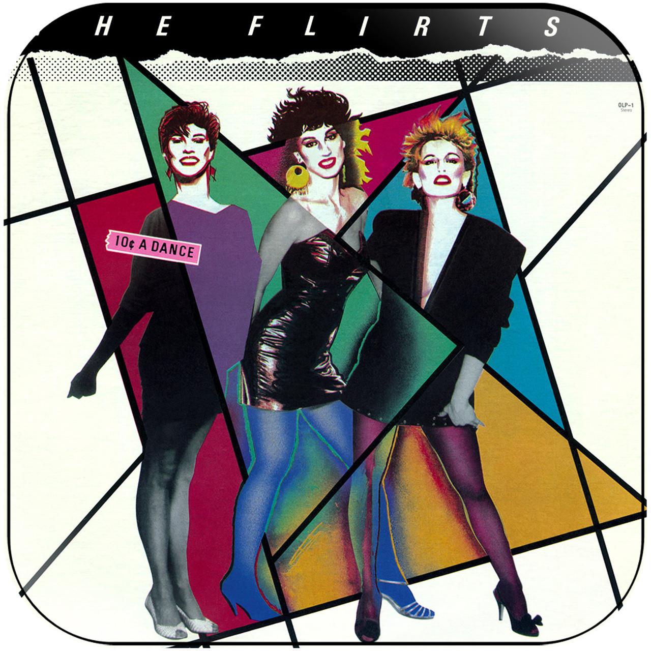 The Flirts 10 A Dance Album Cover Sticker
