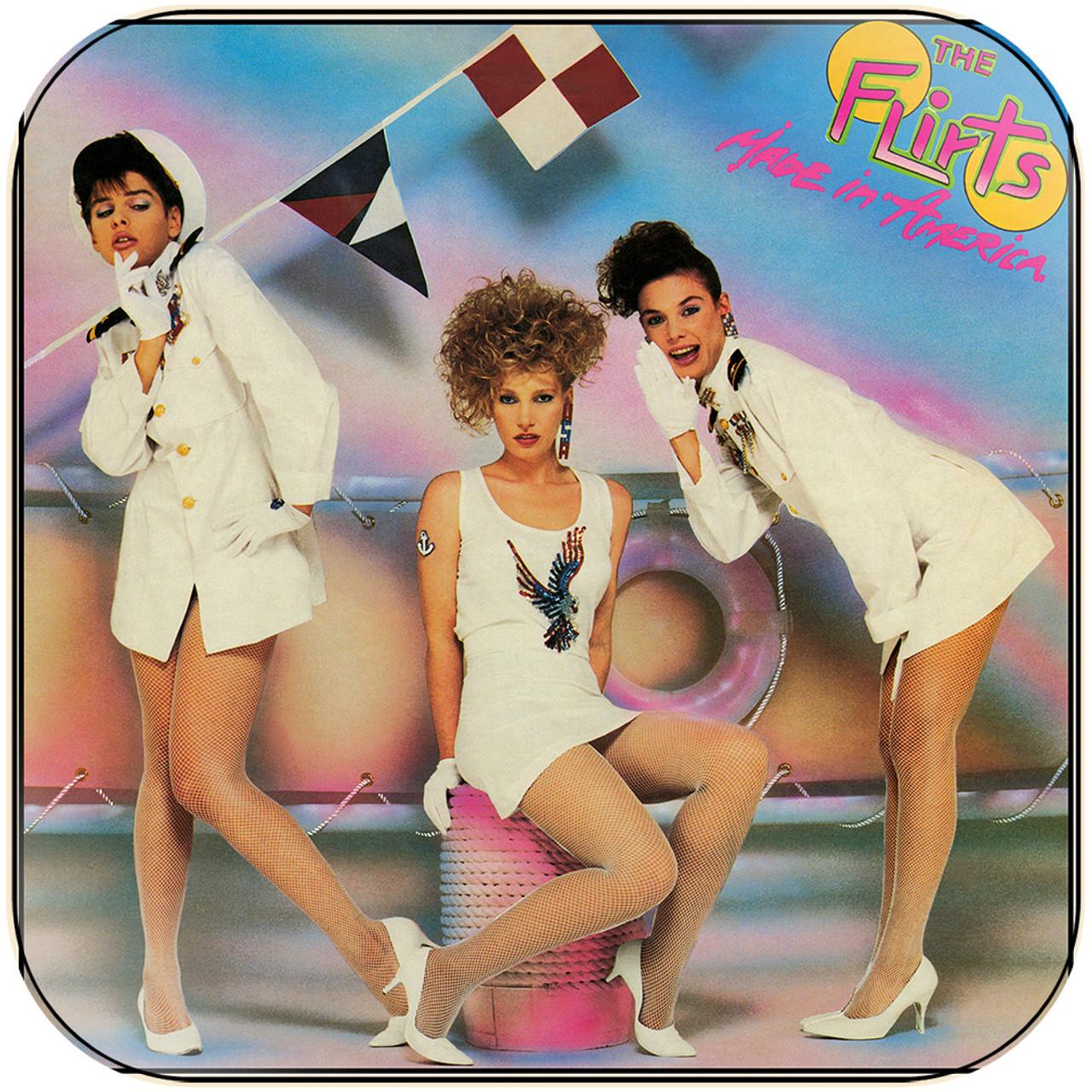 The Flirts Made In America Album Cover Sticker