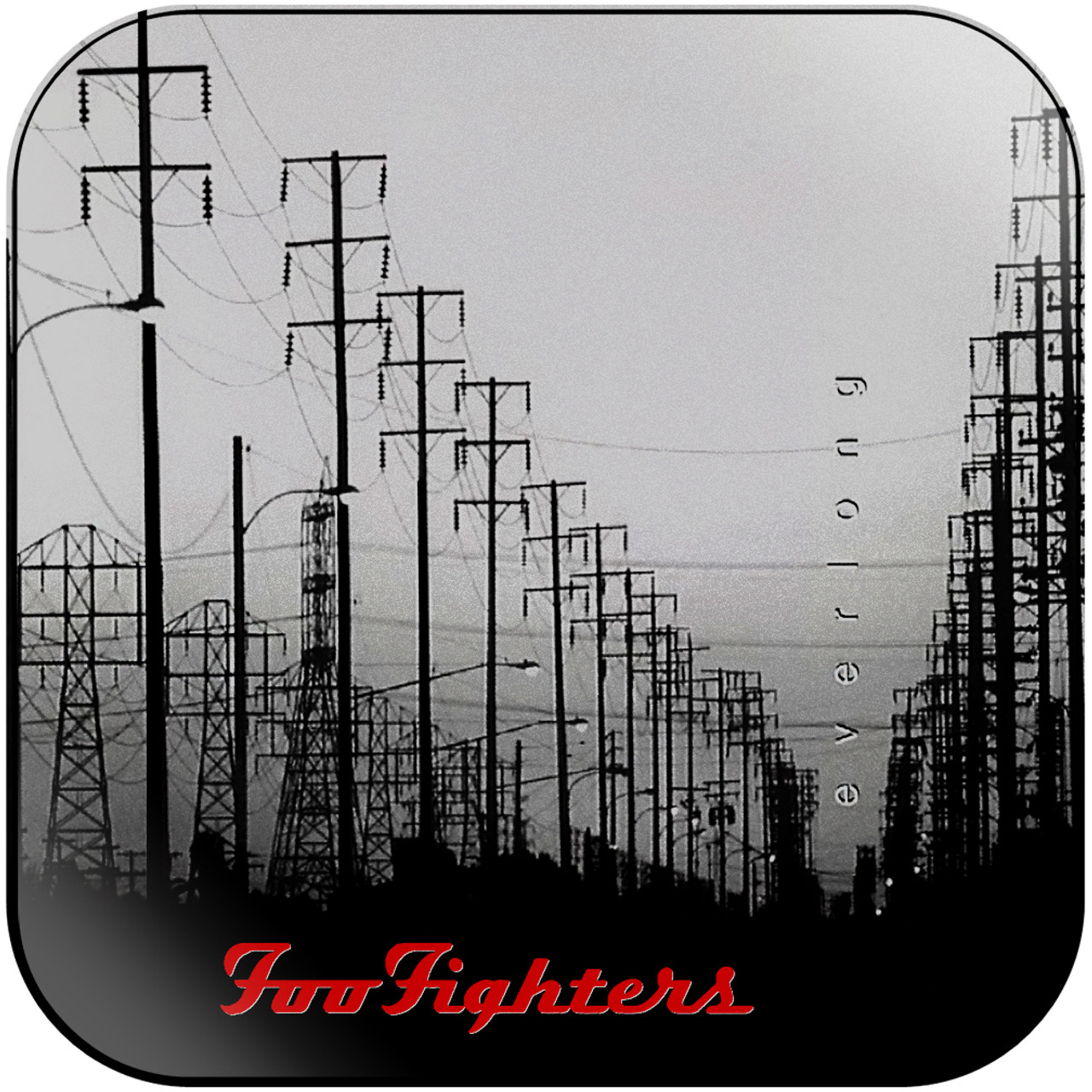 Foo Fighters Everlong 3 Album Cover Sticker