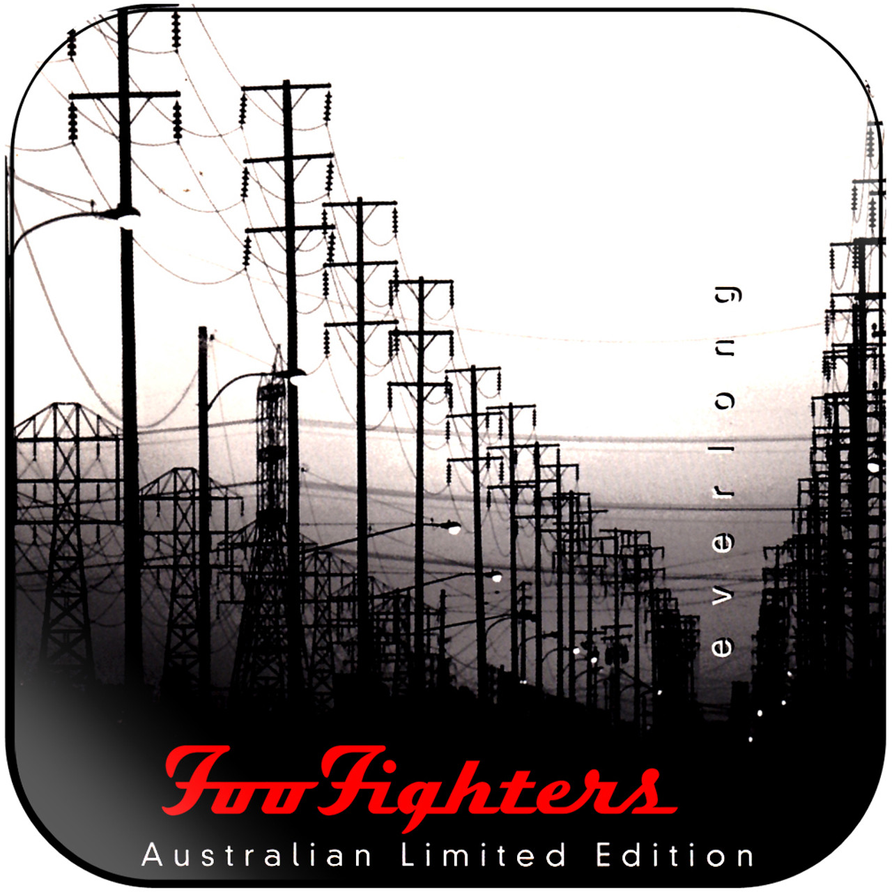 Foo Fighters Everlong 4 Album Cover Sticker