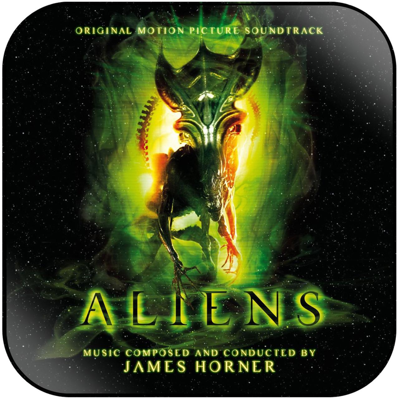 James Horner - Aliens-2 Album Cover Sticker