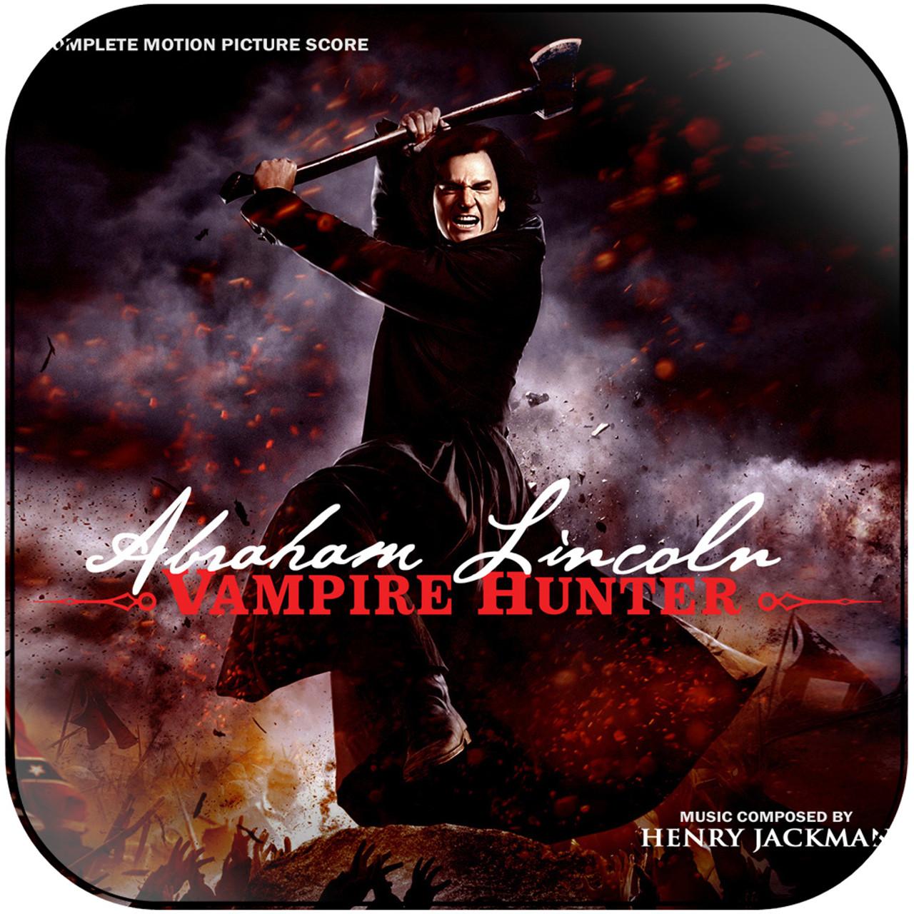 Henry Jackman Abraham Lincoln Vampire Hunter 2 Album Cover Sticker