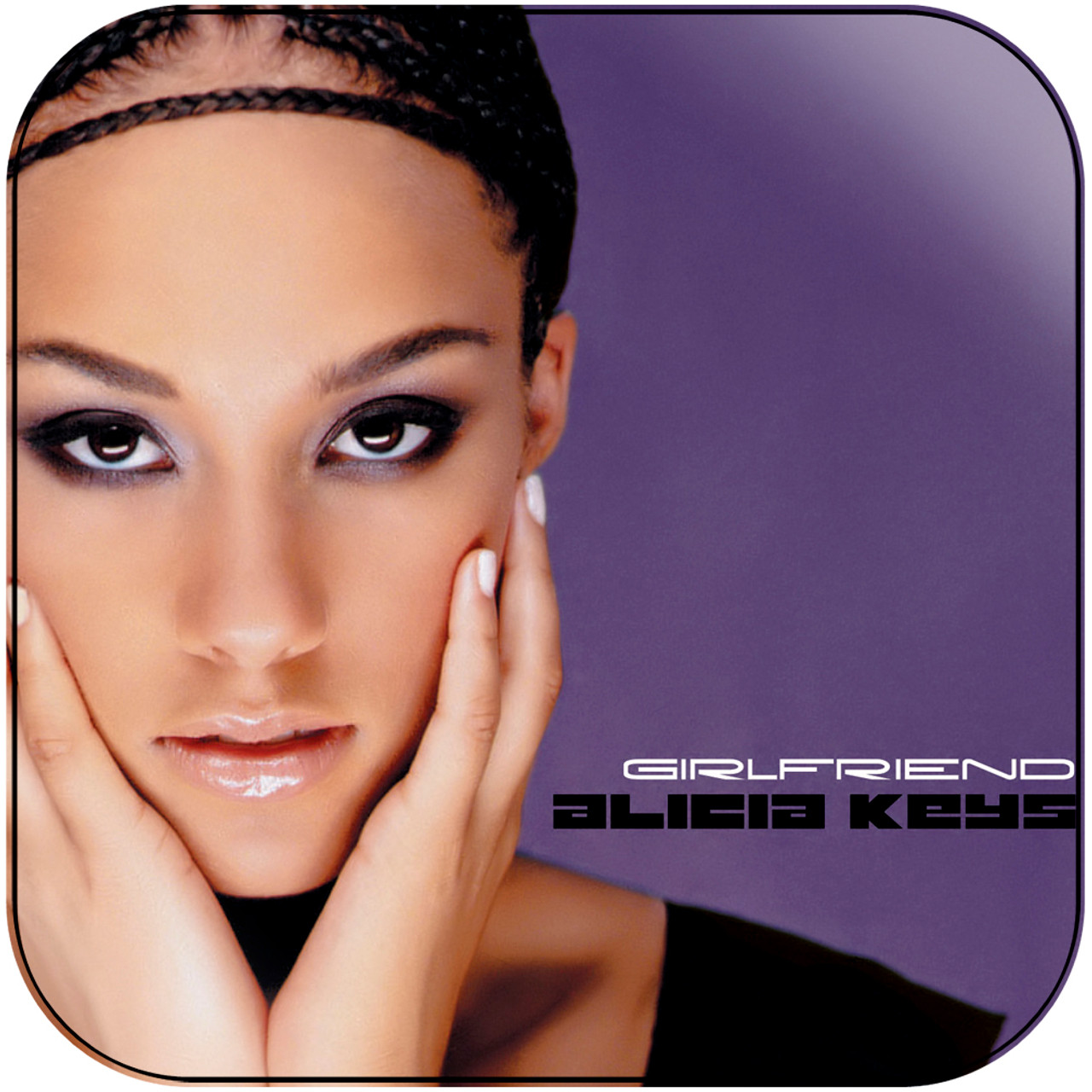 Alicia Keys - Girlfriend Album Cover Sticker