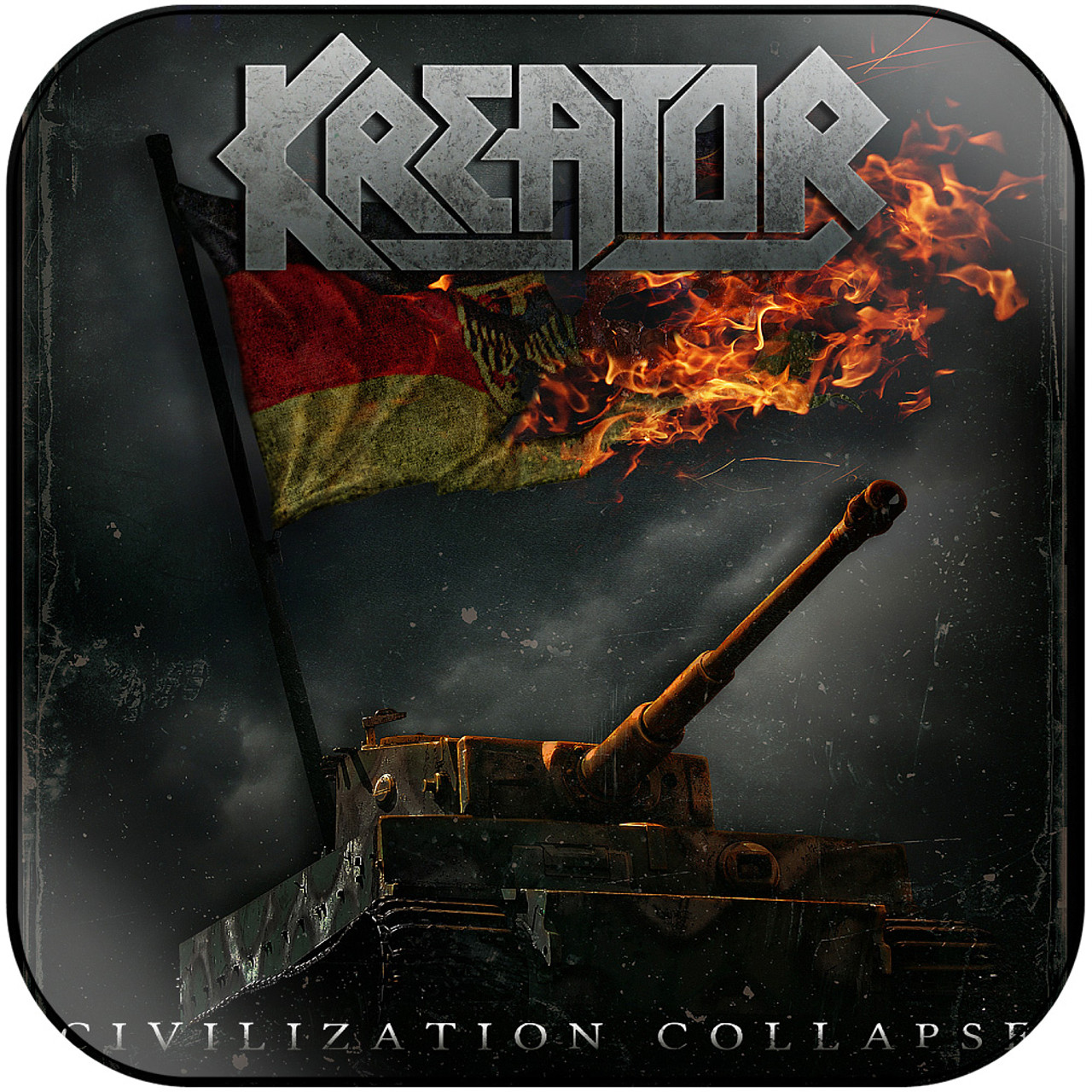 Kreator - Civilization Collapse-2 Album Cover Sticker