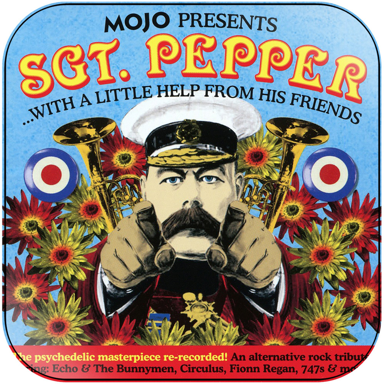 Various Artists - Sgt Pepper With A Little Help From His Friends Album  Cover Sticker