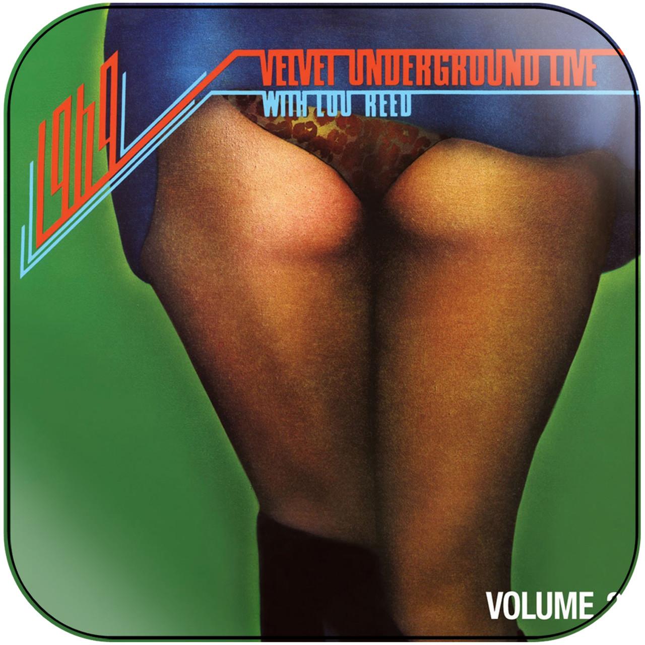 The Velvet Underground - 1969 Velvet Underground Live With Lou Reed Volume  2 Album Cover Sticker