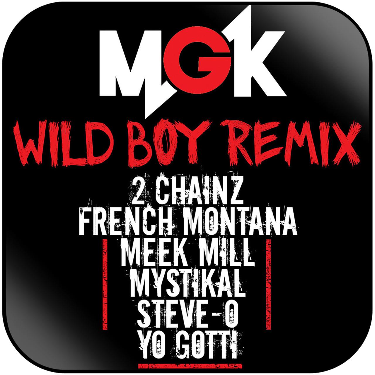 Machine Gun Kelly - Wild Boy Remix Album Cover Sticker