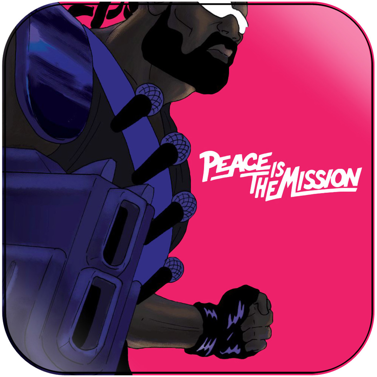 Major Lazer Peace Is The Mission Album Cover Sticker