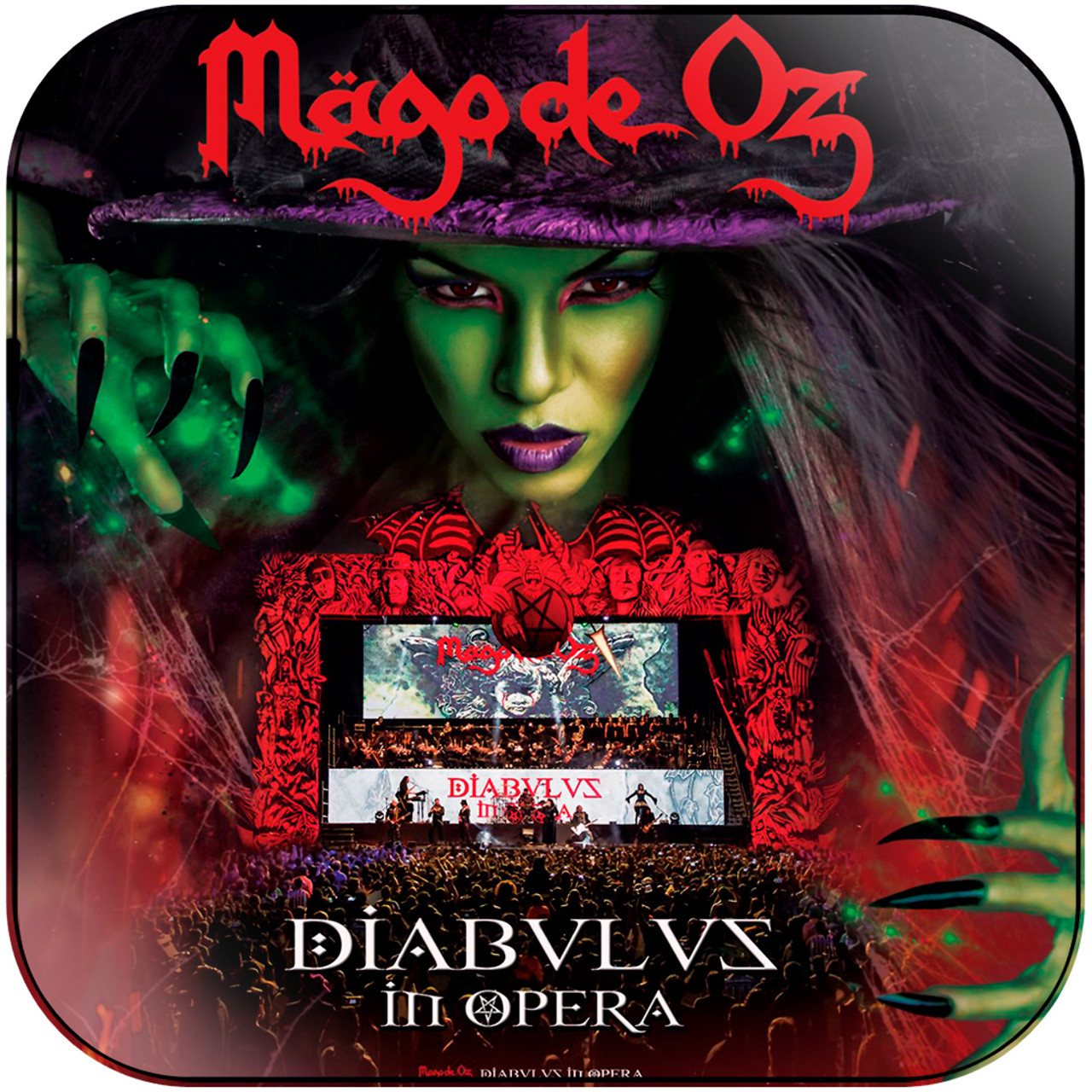 Mago De Oz Diabulus In Opera Album Cover Sticker