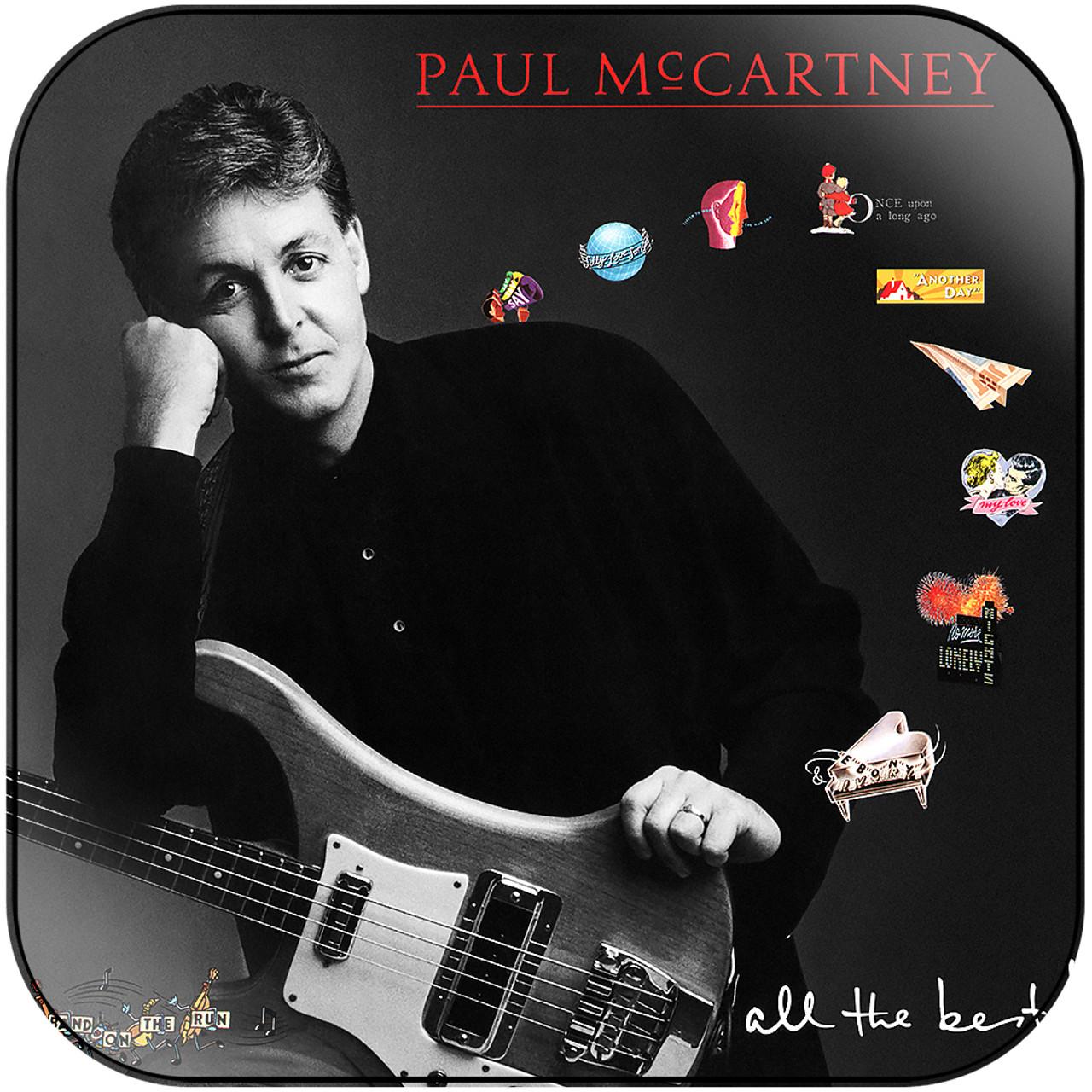Paul McCartney - All The Best Album Cover Sticker
