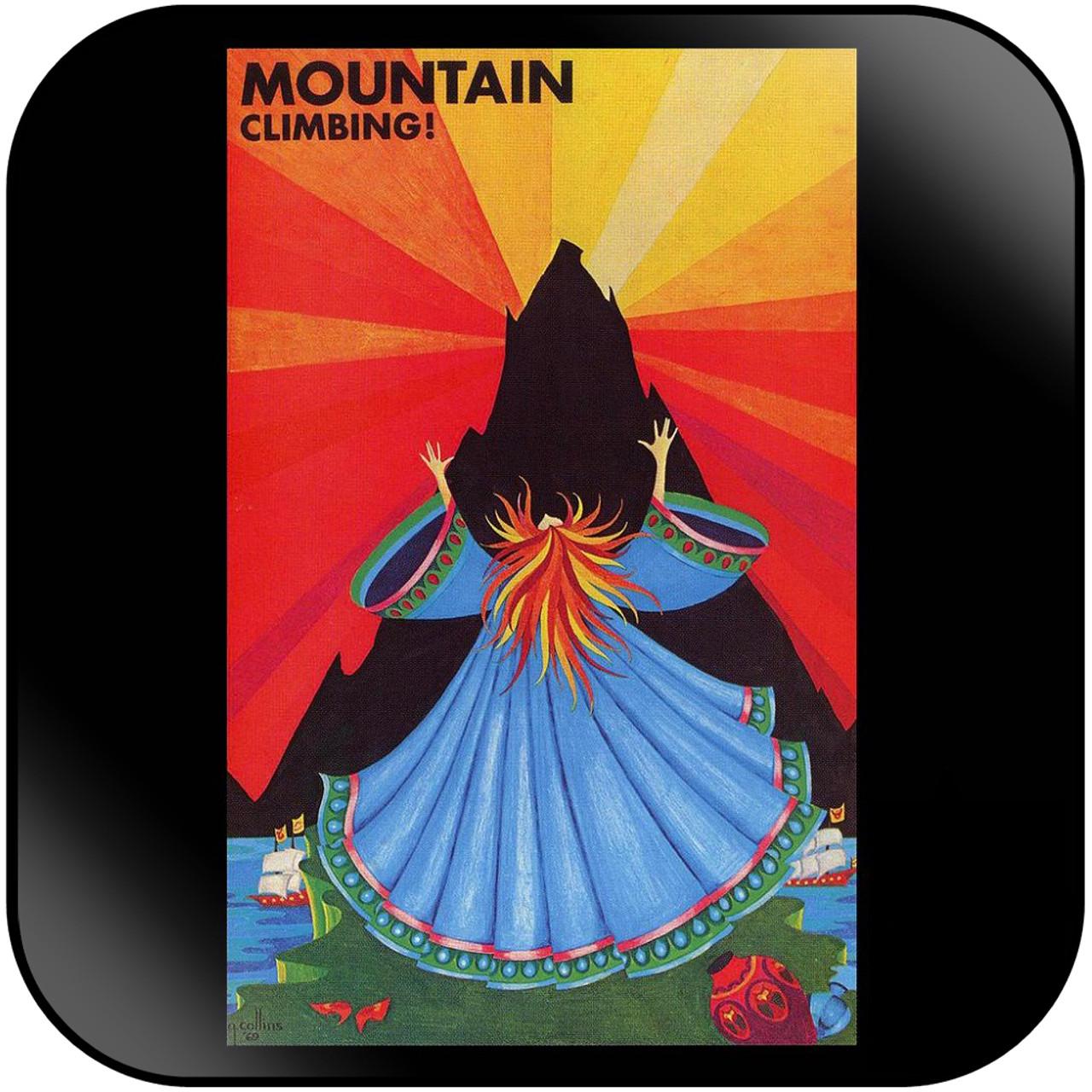 Mountain Climbing Album Cover Sticker