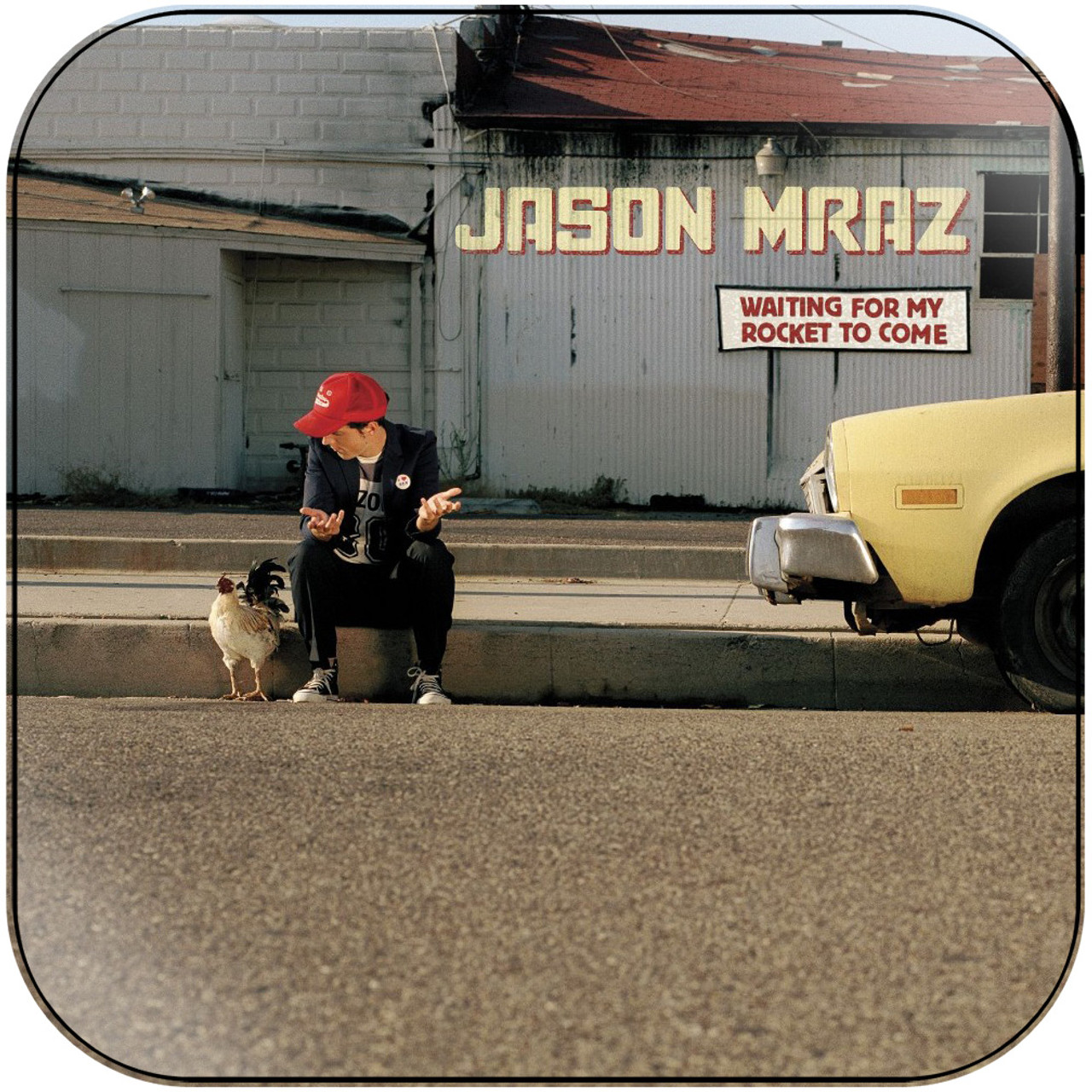 Jason Mraz - Waiting For My Rocket To Come Album Cover Sticker