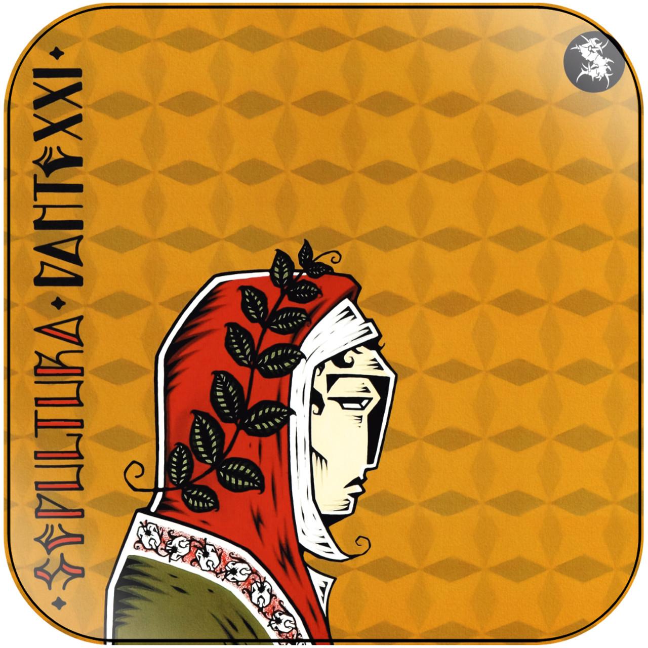 Sepultura Dante Xxi Album Cover Sticker