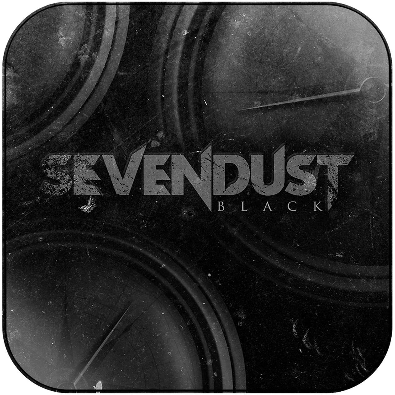 Sevendust - Black Album Cover Sticker