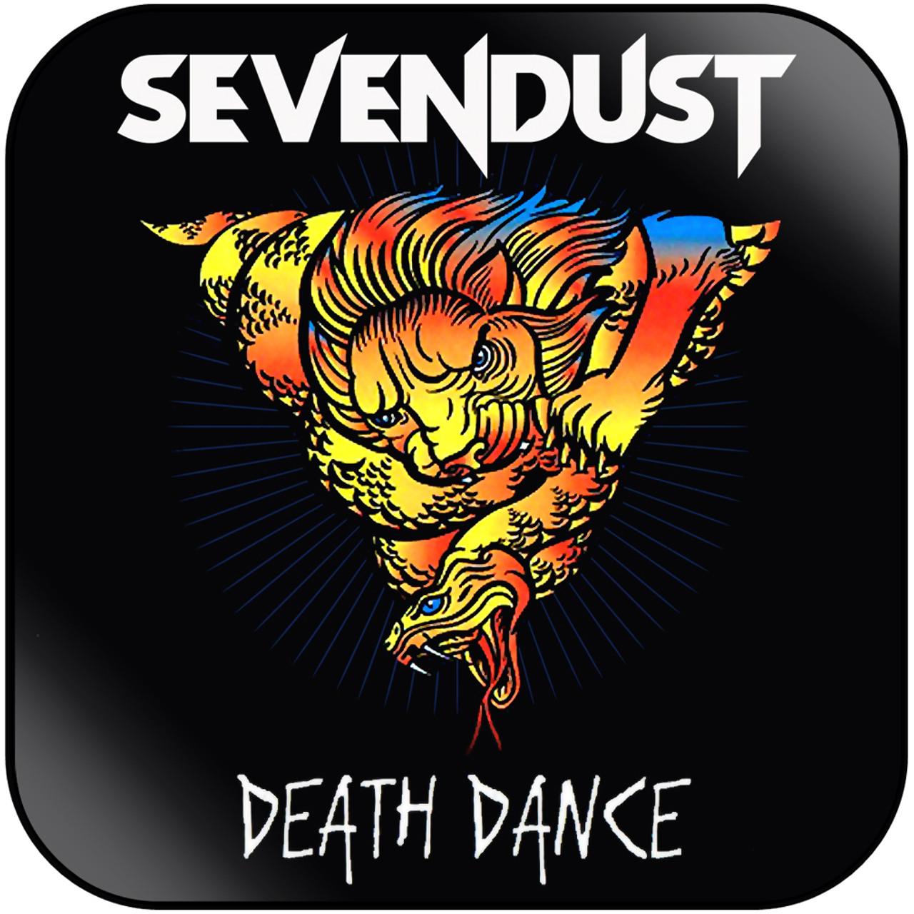 Sevendust - Death Dance Album Cover Sticker