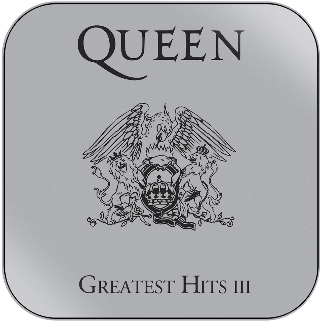 Queen - Greatest Hits Iii Album Cover Sticker Album Cover Sticker