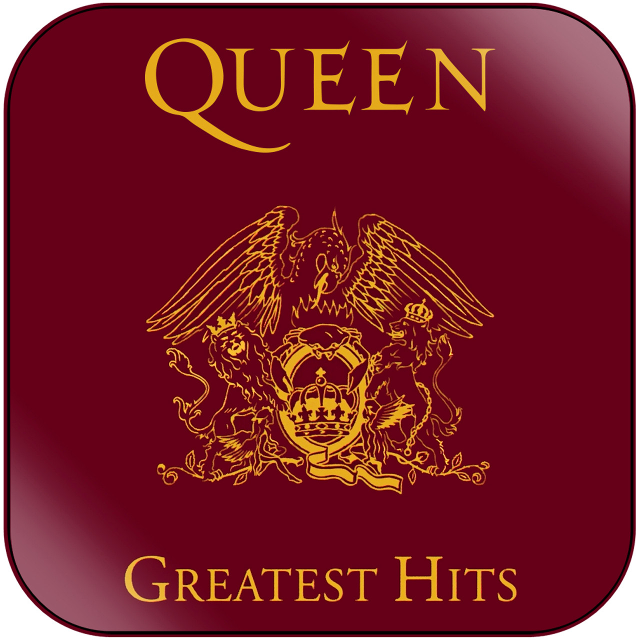 Queen - Greatest Hits 1 Album Cover Sticker Album Cover Sticker