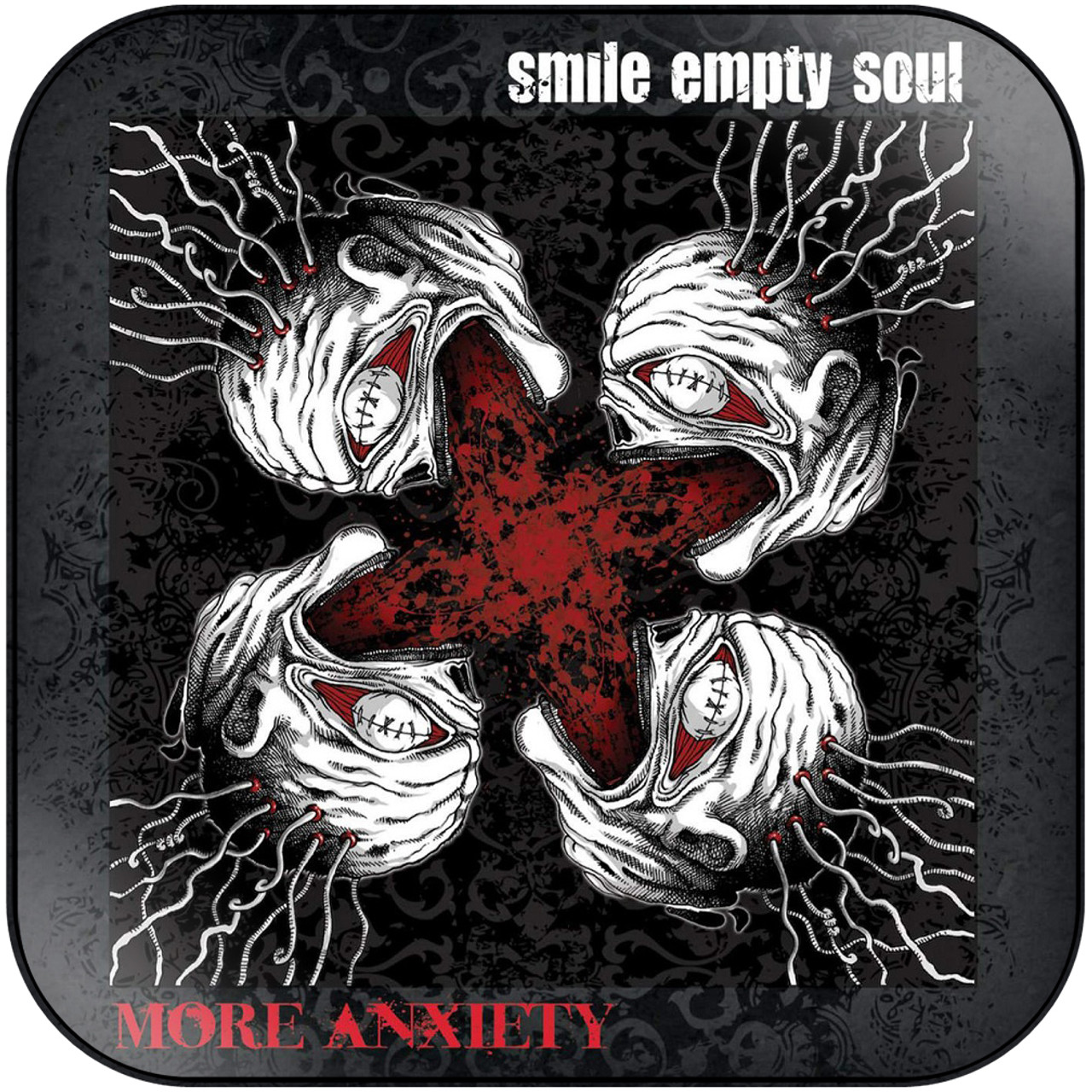 Smile Empty Soul - More Anxiety Album Cover Sticker