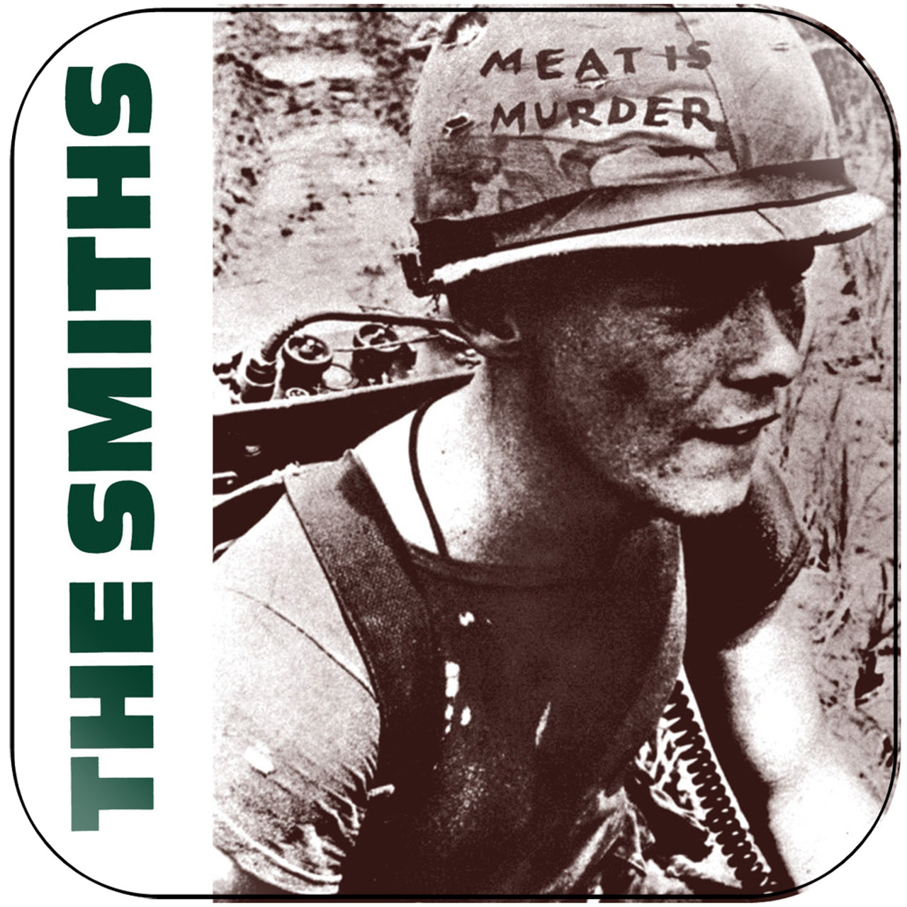 The Smiths - Meat Is Murder-3 Album Cover Sticker