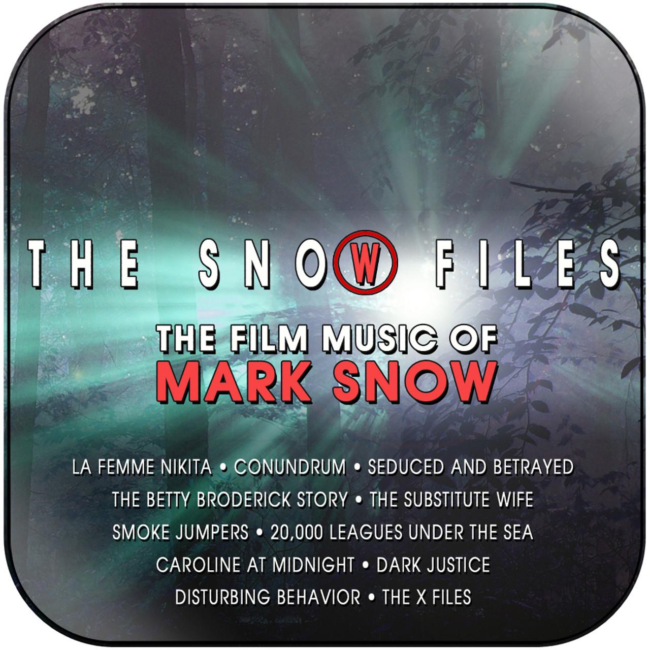 Mark Snow - The Snow Files Album Cover Sticker