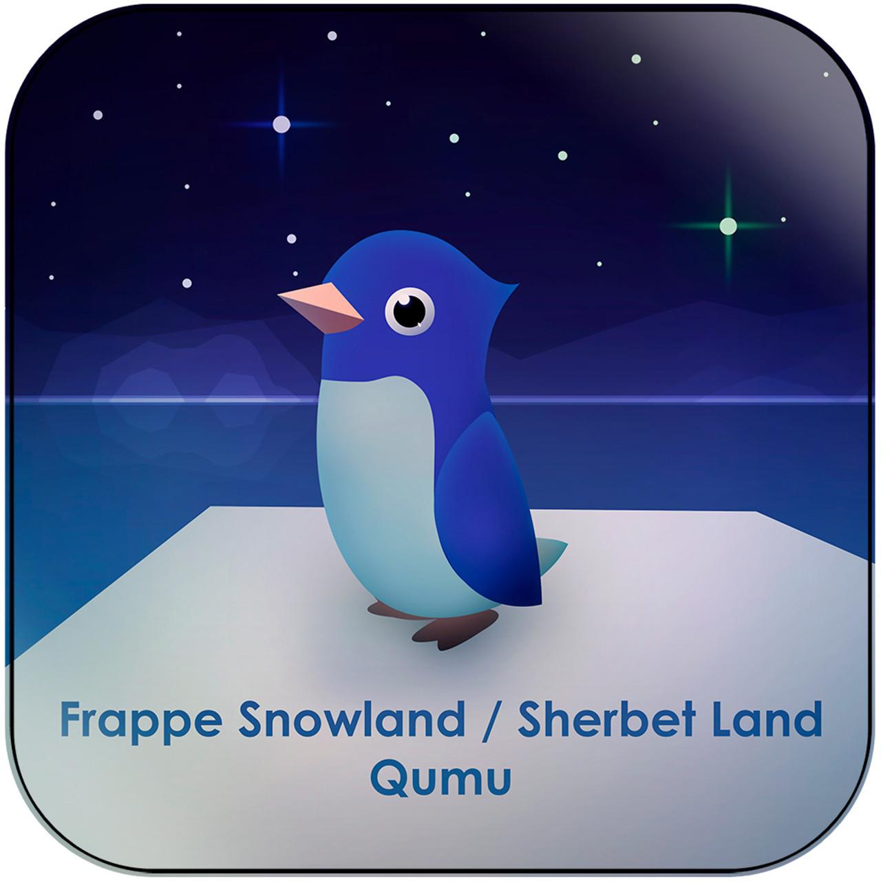 Qumu - Frappe Snowland Sherbet Land From Mario Kart 64 Album Cover Sticker  Album Cover Sticker
