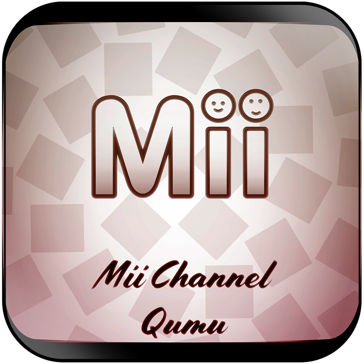 Qumu - Mii Channel From Nintendo Wii Mii Channel Album Cover Sticker Album  Cover Sticker