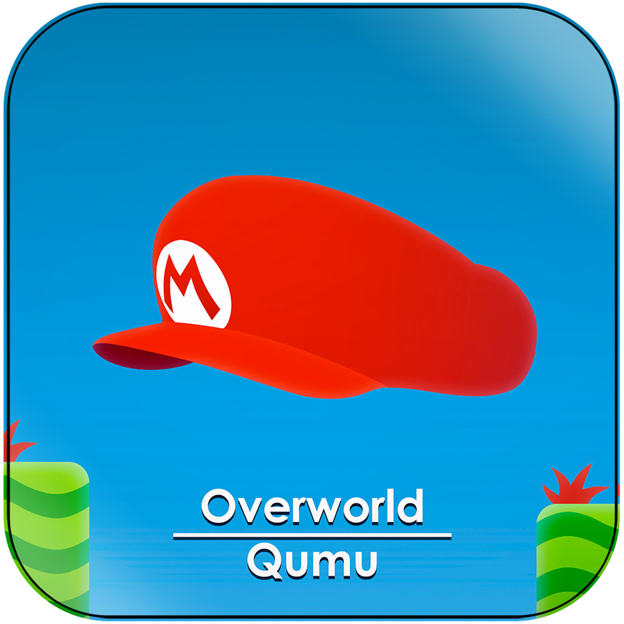 Qumu Overworld From Super Mario Bros 2 Album Cover Sticker Album