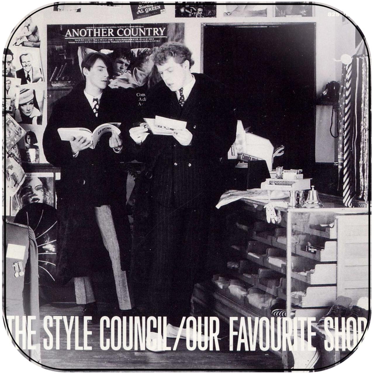 The Style Council , Our Favourite Shop Album Cover Sticker