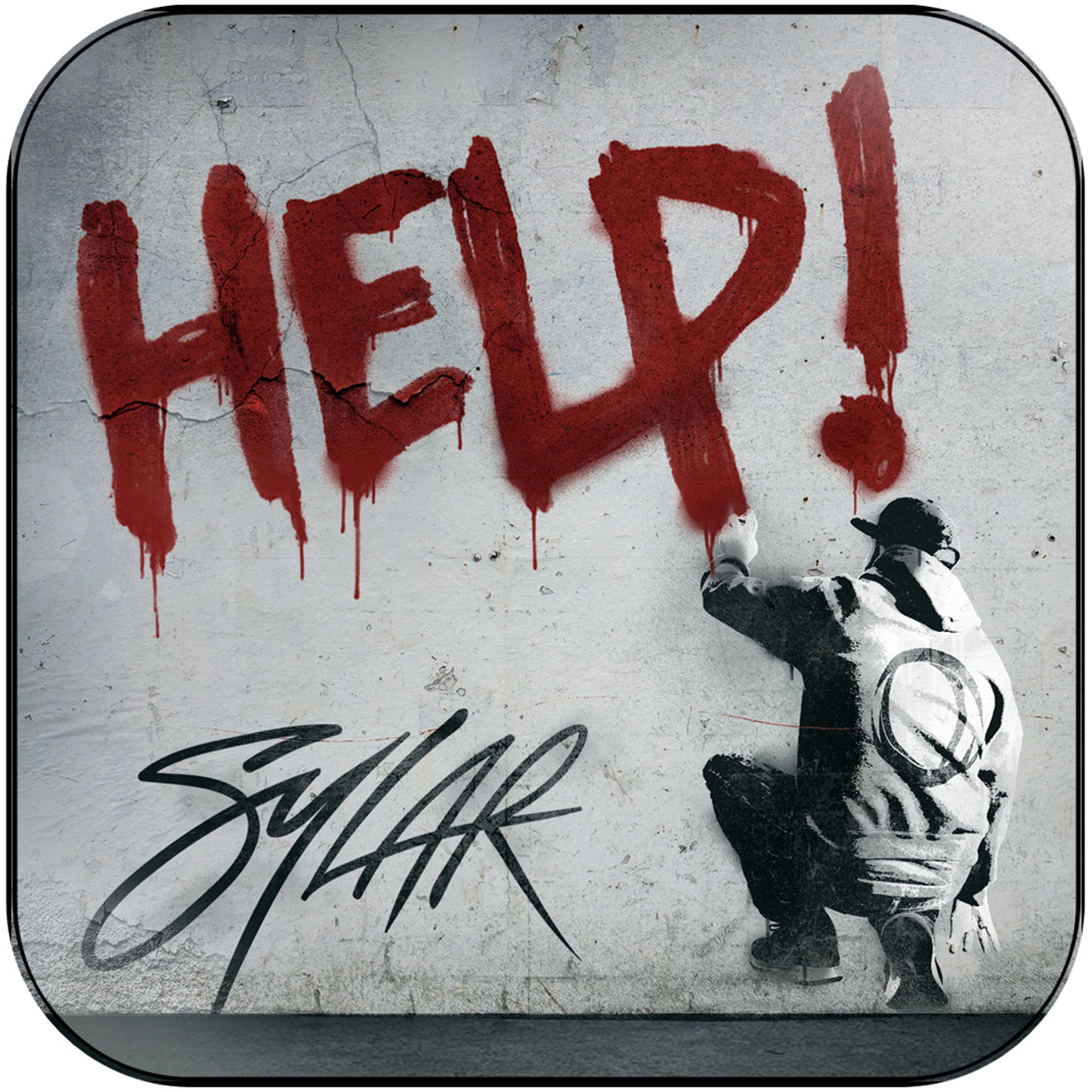 Sylar - Help Album Cover Sticker