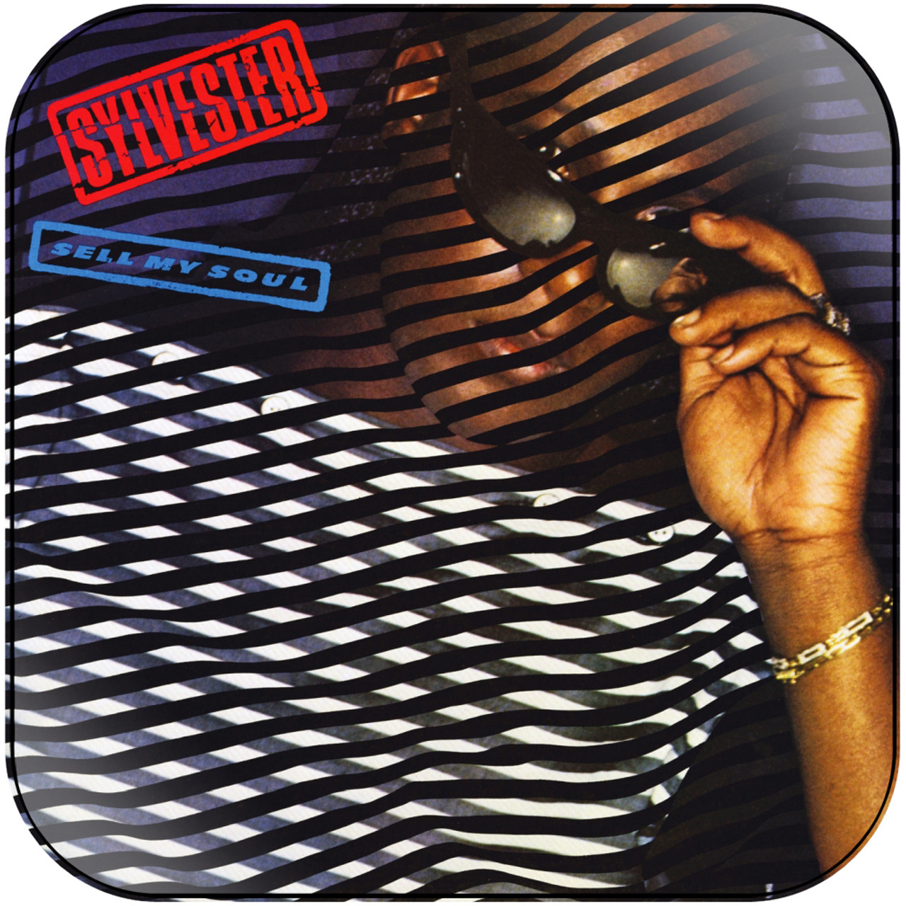 Sylvester - Sell My Soul Album Cover Sticker
