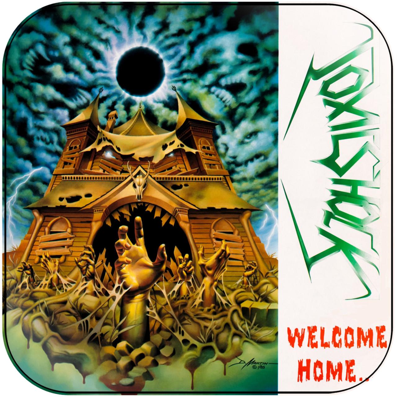 Toxic Shock - Welcome Home Near Dark Album Cover Sticker
